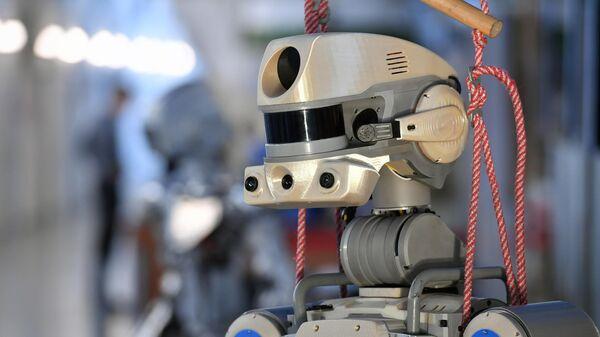 Антропоморфный робот SKYBOT F-850 Федор