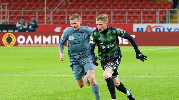 Игровой момент матча Торпедо - Нижний Новгород