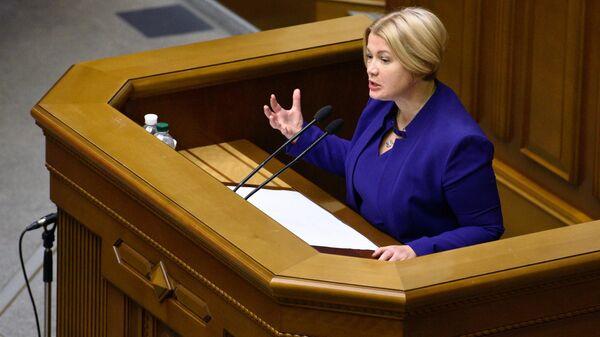 Депутат партии Европейская Солидарность Ирина Геращенко