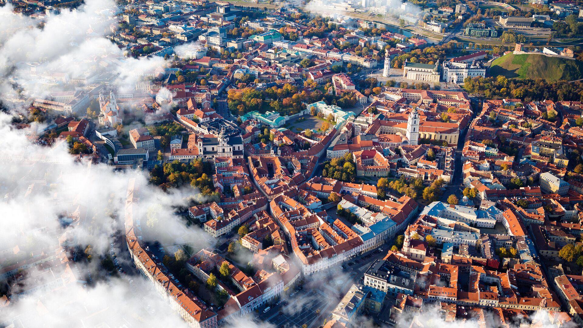 Вид на город Вильнюс - РИА Новости, 1920, 08.12.2020