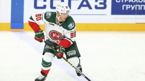 Хоккеист Ак Барса Олег Ли