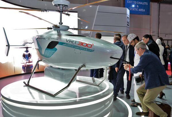 Беспилотный вертолет VRT-300 на международном авиасалоне Dubai Airshow 2019