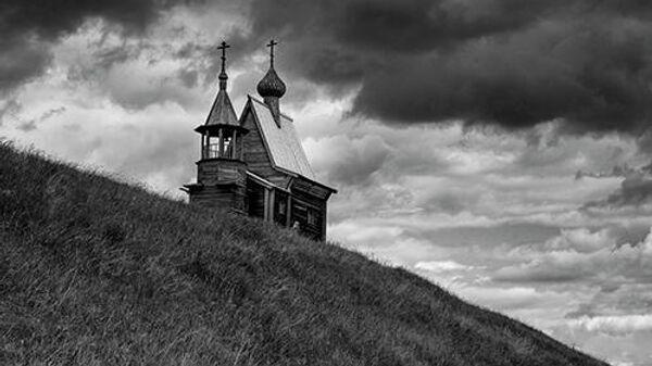 Никольская часовня,  XVIII века, д. Вершинино, Кенозерский национальный парк