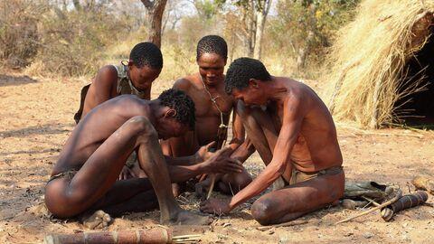 Бушмены Намибии