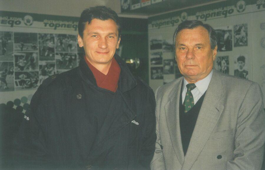 Валентин Иванов и Валентин Иванов-младший. Фото из личного архива Лидии Ивановой