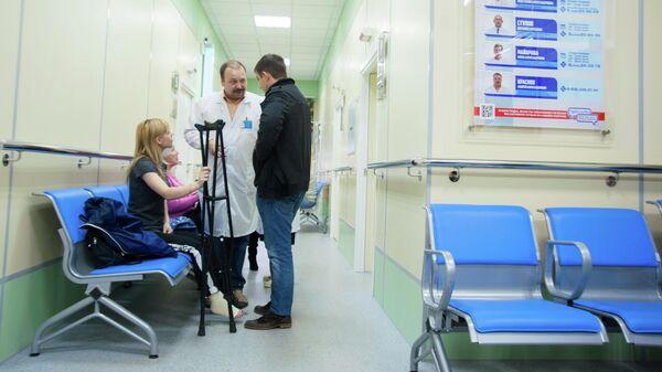 Отделение неотложной травматологии в Ивановской городской клинической больнице №7, открытое после проведенного ремонта