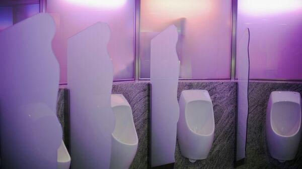 Общественный туалет на станции метро в Швейцарии