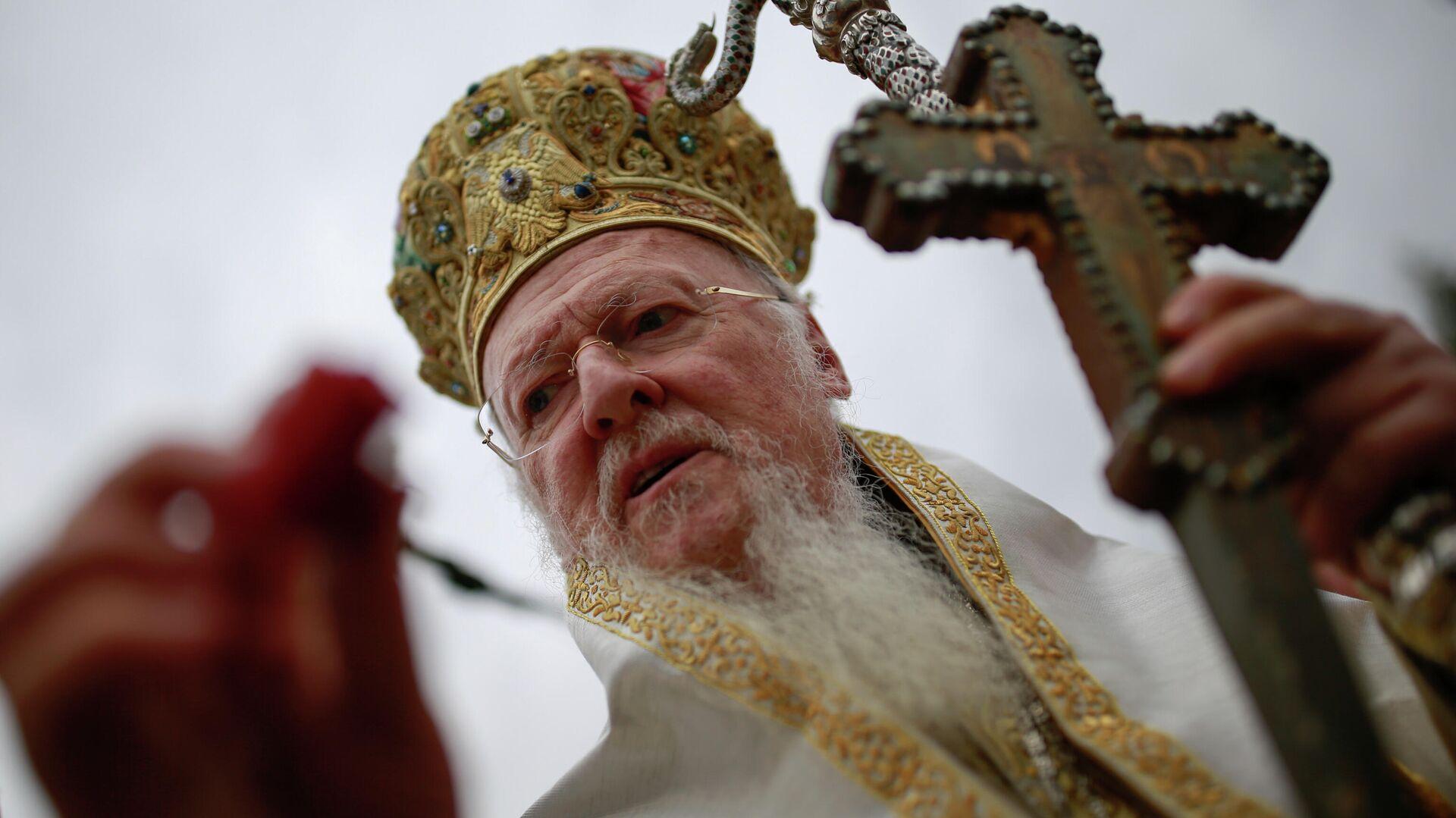 Патриарх Константинопольский Варфоломей - РИА Новости, 1920, 23.08.2020