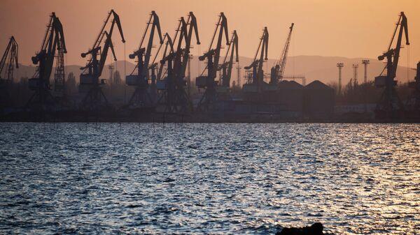 Порт в городе Керчь