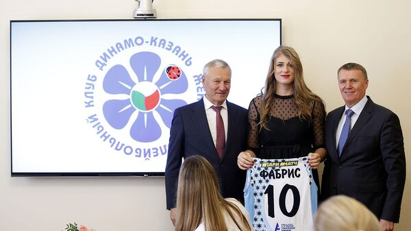 Саманта Фабрис, волейболистка казанского Динамо