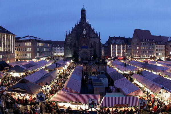 Рождественская ярмарка в Нюрнберге