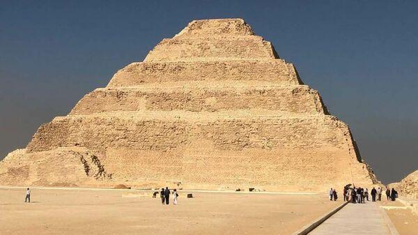 Мумии, найденные в районе комплекса Саккара в пригороде Каира