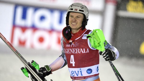 Горнолыжник Хенрик Кристофферсен (Норвегия)