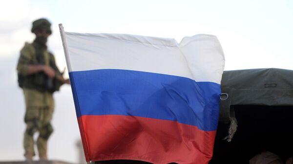 Флаг России в Сирии