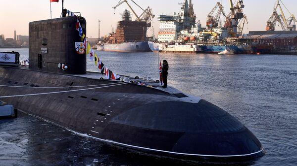 Дизель-электрическая подводная лодка Петропавловск-Камчатский