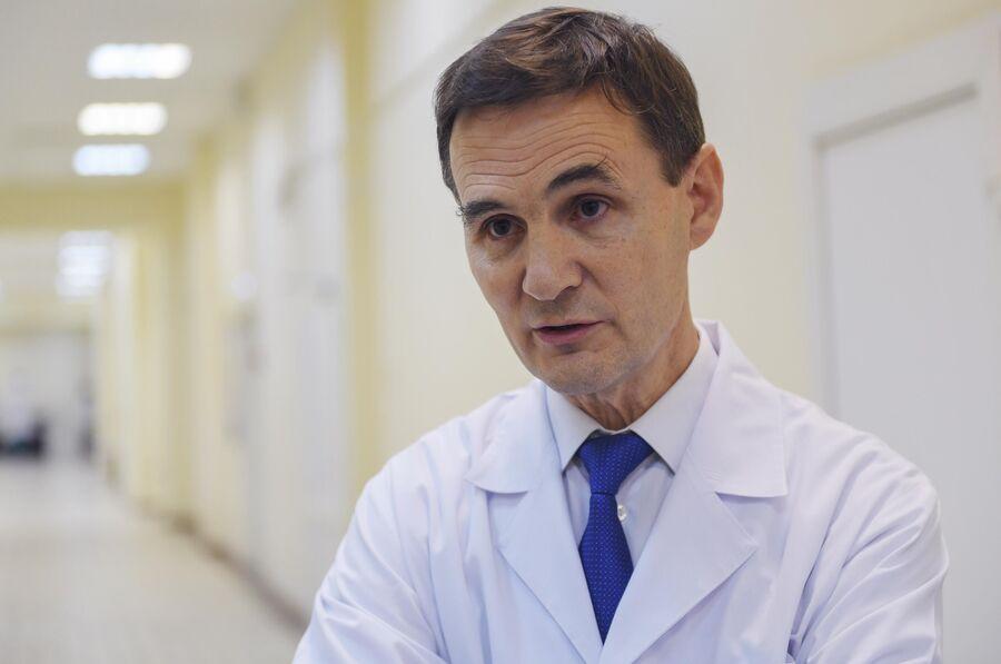 Руководитель центра ран и раневых инфекций Национального медицинского исследовательского центра хирургии имени А.В. Вишневского Валерий Митиш