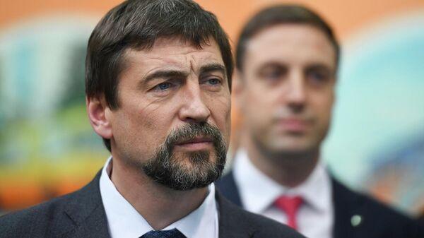 Министр транспорта и дорожной инфраструктуры Московской области Алексей Гержик