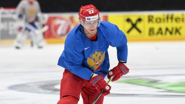 Игрок сборной России Никита Зайцев