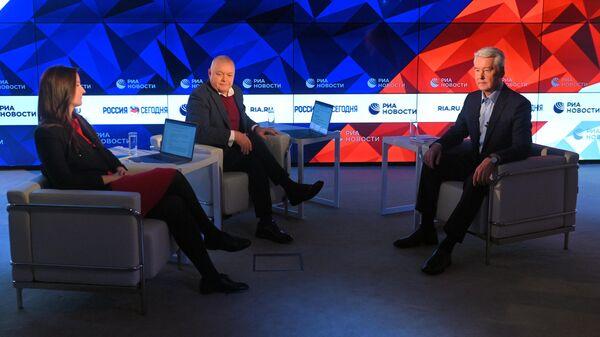 Интервью мэра Москвы Сергея Собянина РИА Новости