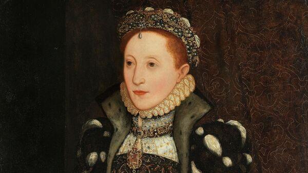 Портрет королевы Елизаветы I Стивена ван дер Мюлена
