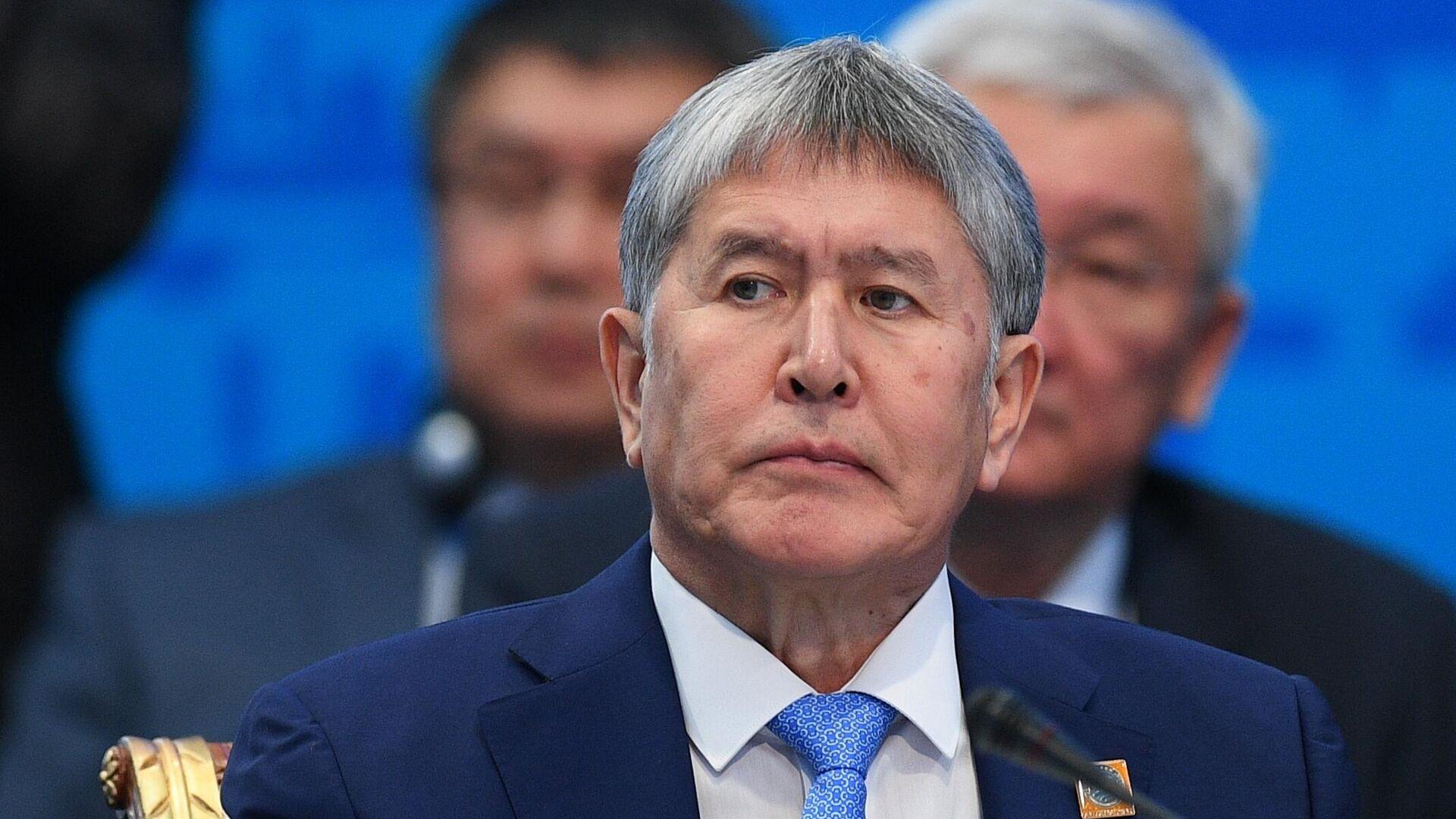 Бывший президент Киргизии Алмазбек Атамбаев - РИА Новости, 1920, 30.11.2020