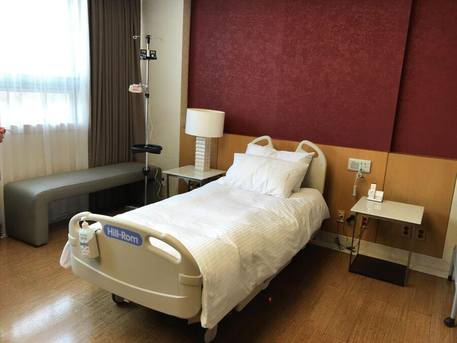 Вип-палата госпиталя Бундан