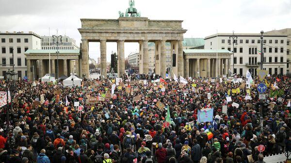 Митинг в защиту климата в Берлине. 29 ноября 2019