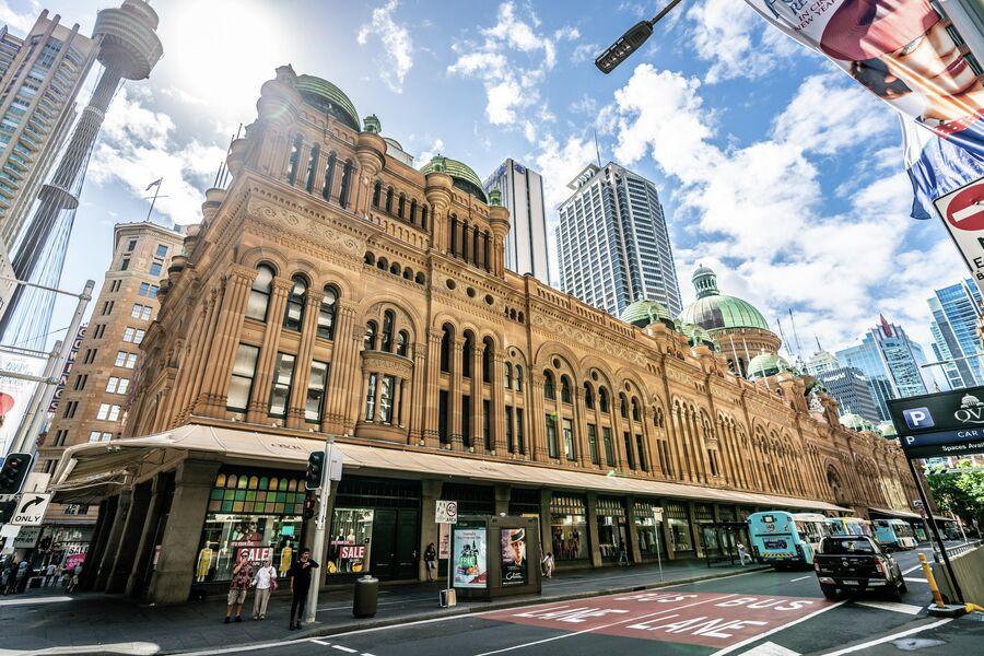 Здание королевы Виктории в Сиднее