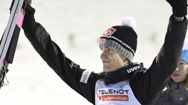 Прыгун с трамплина Даниэль-Андре Танде (Норвегия)