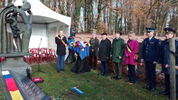 Землю с воинского захоронения в Бельгии передадут в музей главного храма ВС РФ