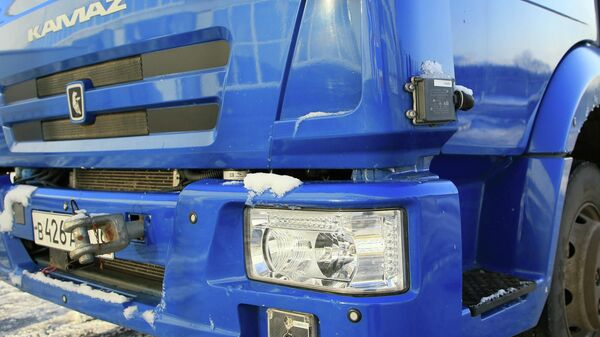 Беспилотный автомобиль КАМА3-4308