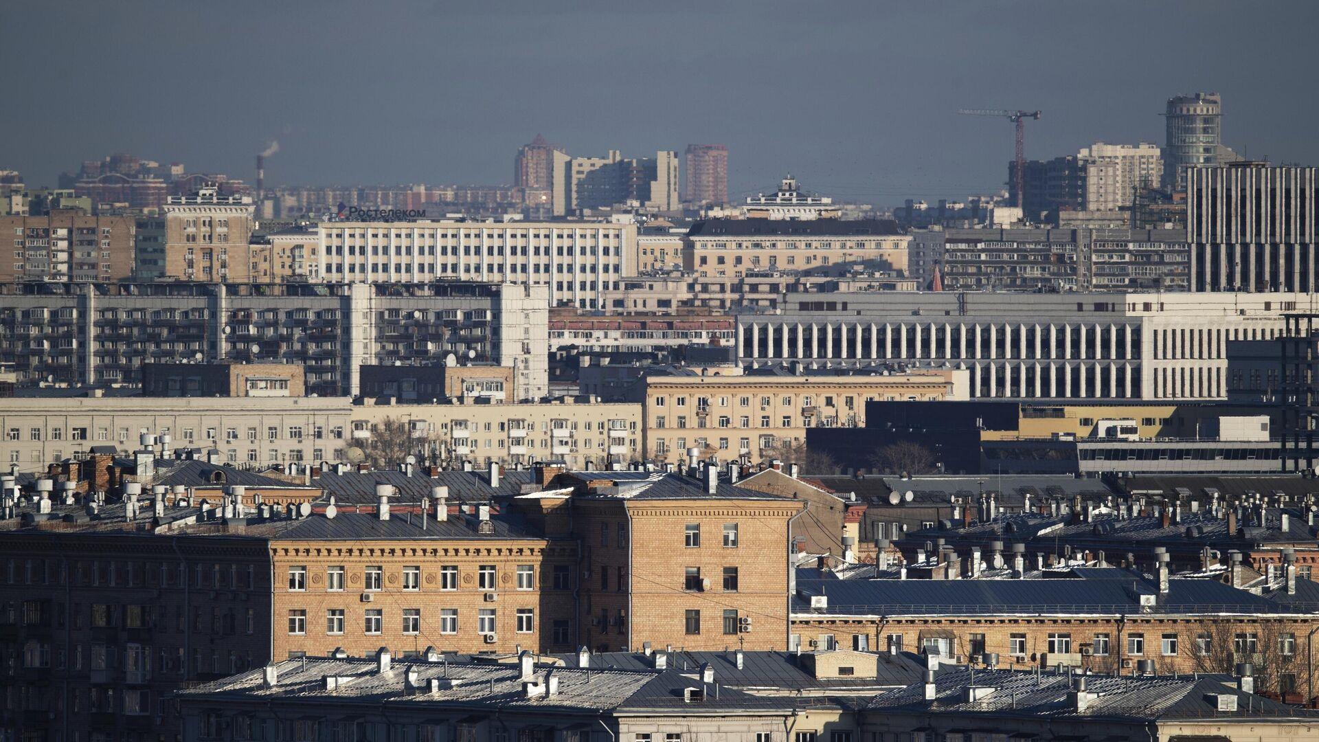 Вид на Москву с Воробьевых гор - РИА Новости, 1920, 30.03.2021