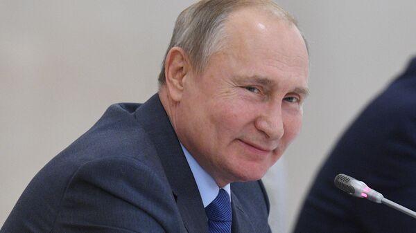 Рабочая поездка президента РФ В. Путина в Кабардино-Балкарию
