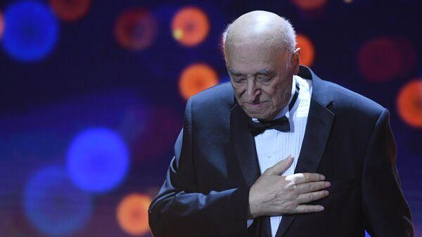 Народный артист СССР Владимир Этуш на XXXI церемонии вручения Национальной кинематографической премии Ника