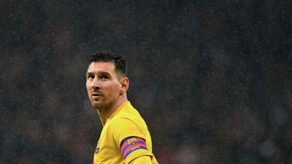 Нападающий ФК Барселона Лионель Месси