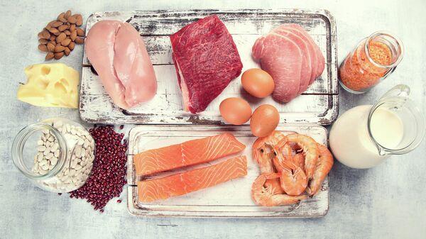Еда с высоким содержанием белка