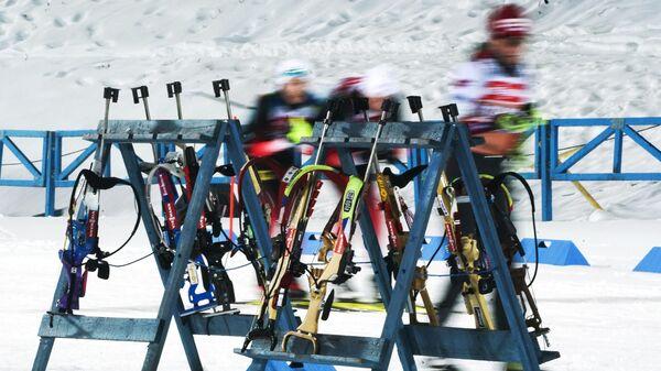 Винтовки биатлонистов