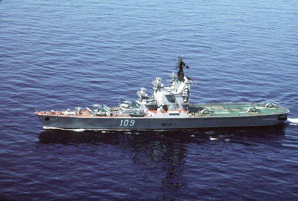 Противолодочный крейсер Ленинград