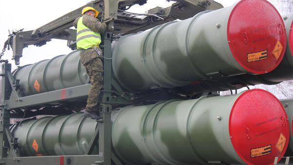 Работа расчета транспортно-заряжающей машины С-300ПМ2