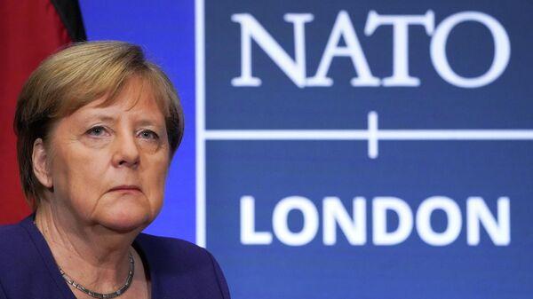 Канцлер Германии Ангела Меркель на самите НАТО в Великобритании