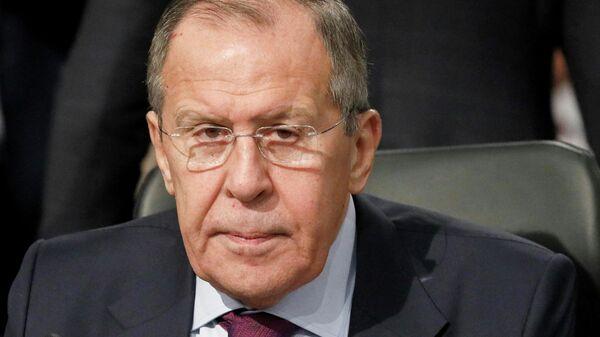 Министр иностранных дел РФ Сергей Лавров на 26-м заседании СМИД ОБСЕ