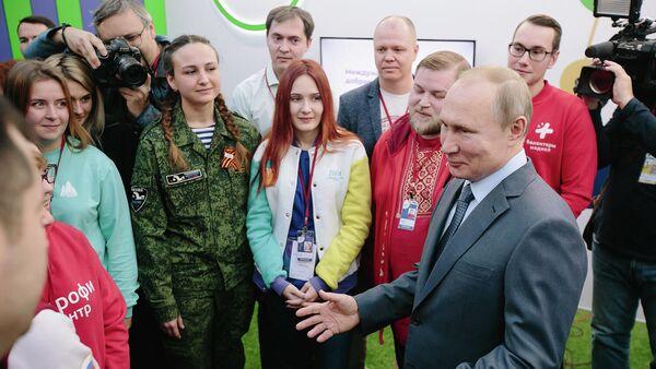 Добровольцы представили свои проекты и предложения президенту России