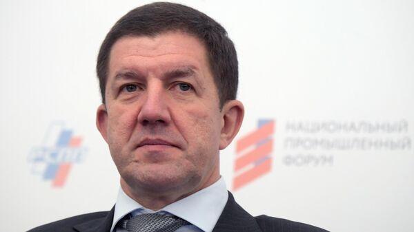 Президент, председатель правления ПАО Ростелеком Михаил Осеевский на национальном промышленном форуме в Москве