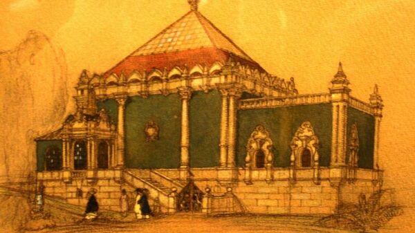 Павильон России на Венецианской Биеннале. Проект Щусева