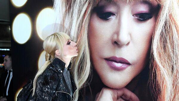 Певица Кристина Орбакайте на премьере фильма Алла Пугачева. Тот самый концерт
