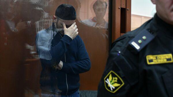 Подозреваемый Закре Полонкоев - сын предполагаемого лидера ОПГ Хасана Полонкоева в Басманном районном суде
