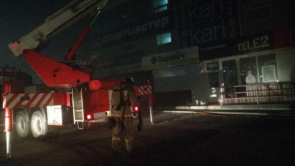 Возгорание в торговом центре в городе Биробиджан. 7 декабря 2019