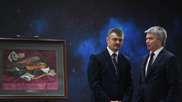 Павел Колобков (справа) и Сергей Ковальчук
