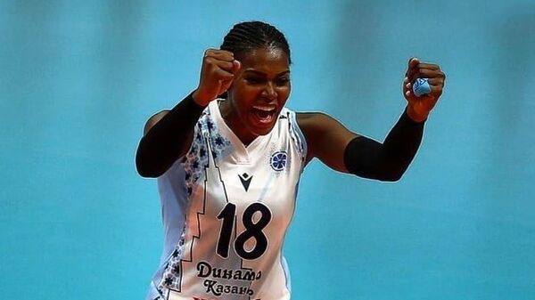 Волейболистка казанского Динамо Бетания де ла Крус