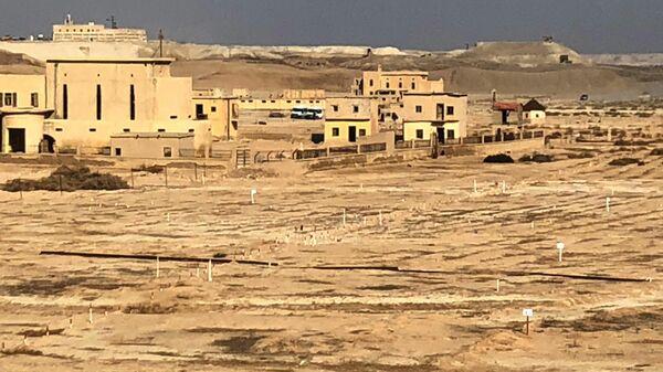 Территории, разминированные израильской армией, на Западном берегу реки Иордан